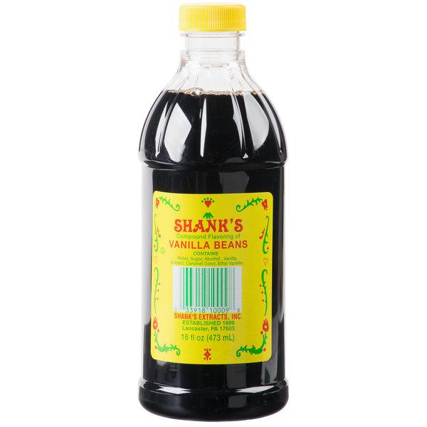 Shank's Imitation Vanilla Flavoring (16