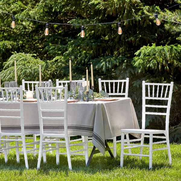 Lancaster Table & Seating White Chiavari Chair Main Image 4
