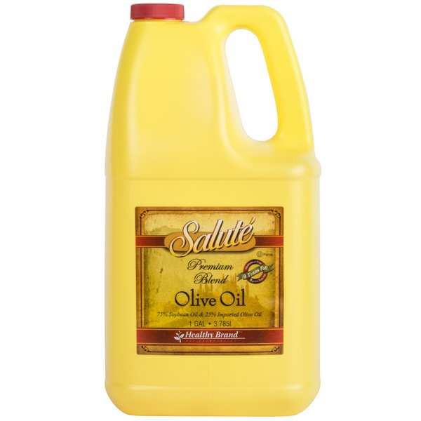 1 Gallon 75% Soybean Oil and 25% Olive Oil Blend - 6/Case