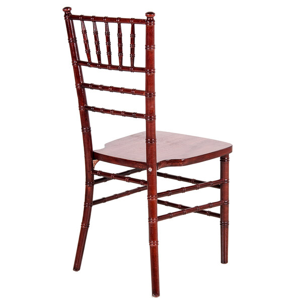 Lancaster Table Amp Seating Mahogany Chiavari Chair