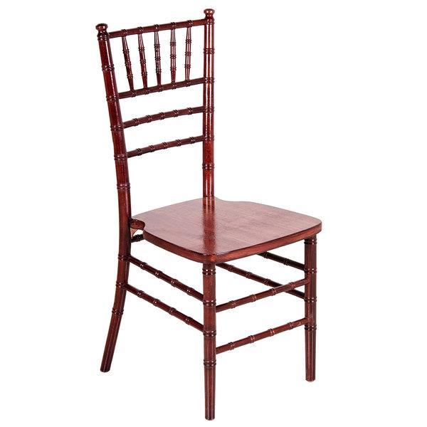 ... Mahogany Chiavari Chair. Image Preview; Main Picture ...  sc 1 st  WebstaurantStore & Mahogany Chiavari Chair | Lancaster Table u0026 Seating