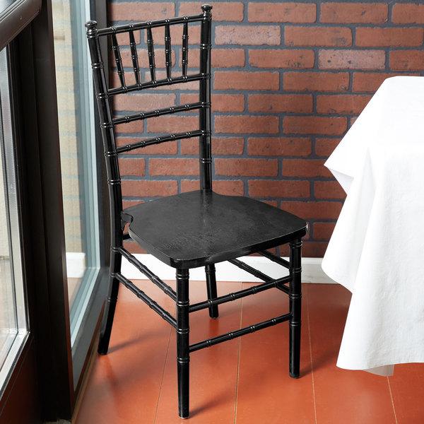 Lancaster Table & Seating Black Chiavari Chair