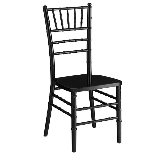 Lancaster Table & Seating Black Chiavari Chair Main Image 1