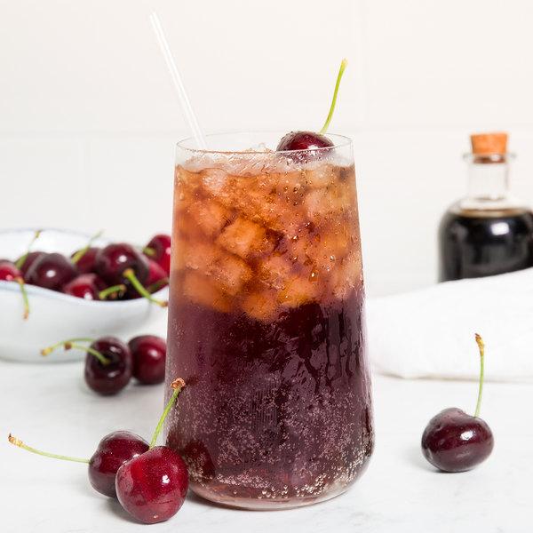 Fox's 1 Gallon Cherry Syrup - 4/Case