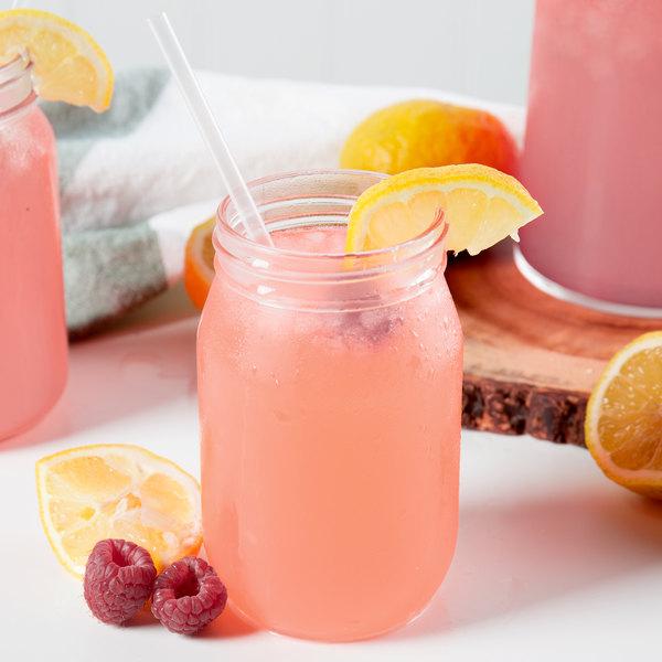 Fox's 1 Gallon Pink Lemonade Syrup - 4/Case
