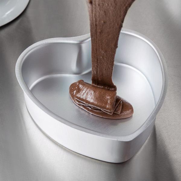 "Wilton 2105-600 Decorator Preferred Heart-Shaped Cake Pan - 6"" x 2"""