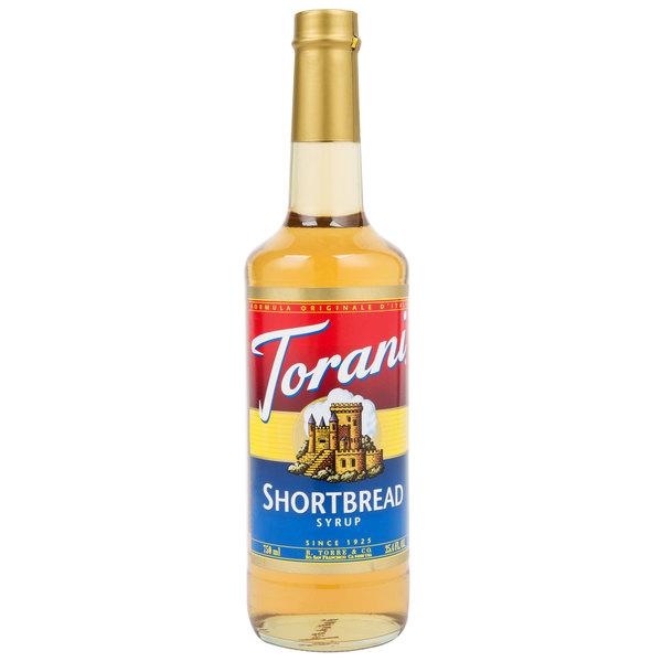 Torani 750 mL Shortbread Flavoring Syrup
