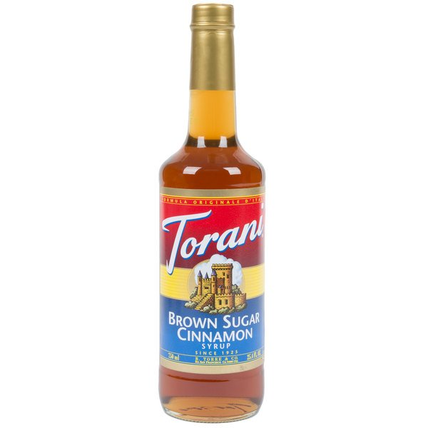 Torani 750 mL Brown Sugar Cinnamon Flavoring Syrup