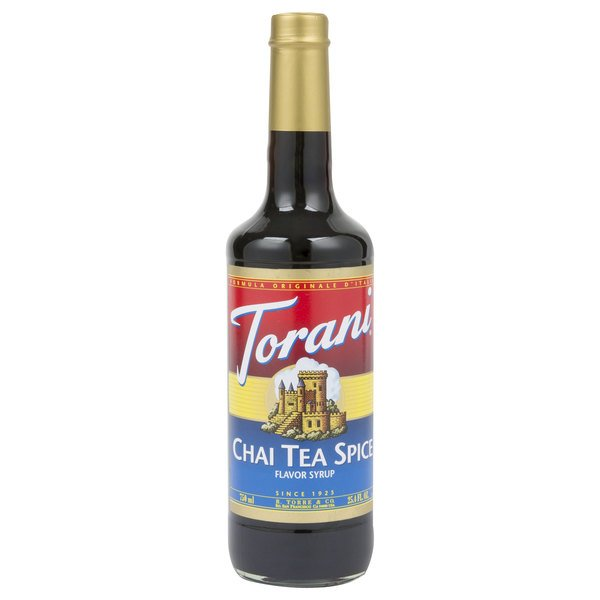 Torani 750 mL Chai Tea Spice Flavoring Syrup Main Image 1