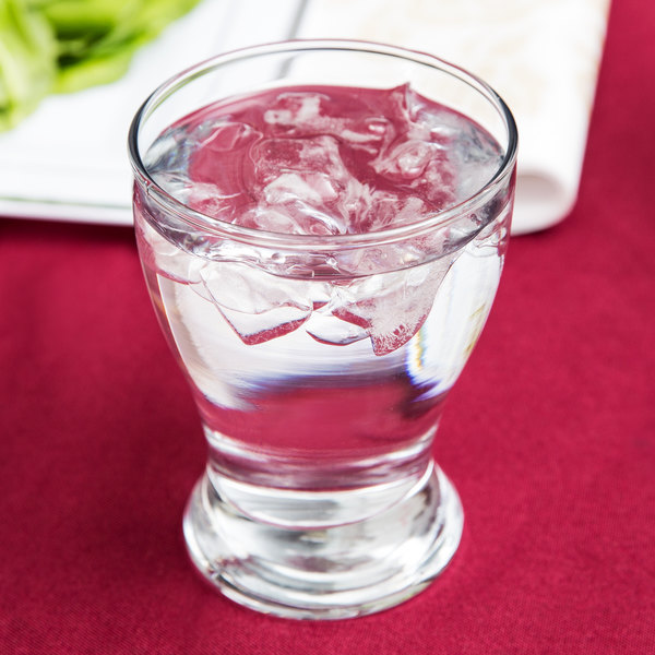 Anchor Hocking 90053A Solace 10 oz. Water Glass - 24/Case