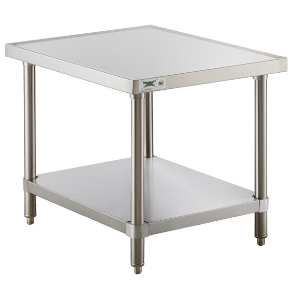 16 Gauge Stainless Steel Mixer Table