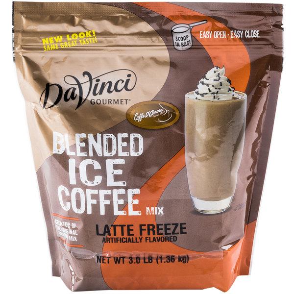 DaVinci Gourmet Ready to Use Latte Freeze Mix - 3 lb.