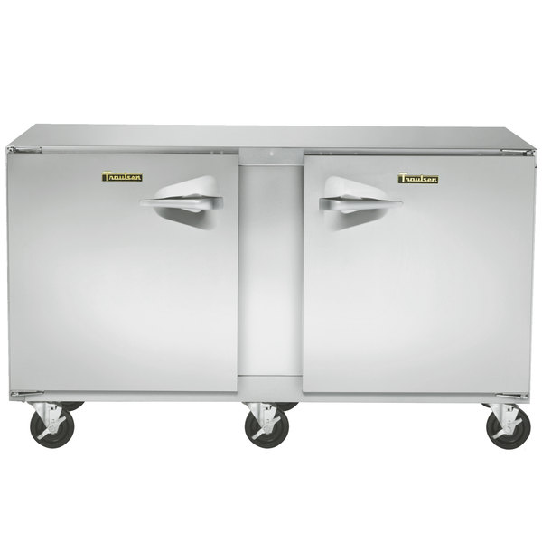 """Traulsen UHT60-LR-SB 60"""" Undercounter Refrigerator with Stainless Steel Back - 16.7 Cu. Ft."""