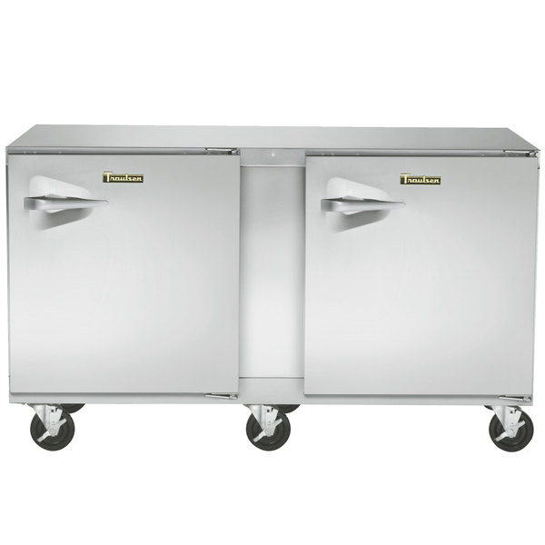 """Traulsen ULT60-RR-SB 60"""" Undercounter Freezer with Right Hinged Doors and Stainless Steel Back"""