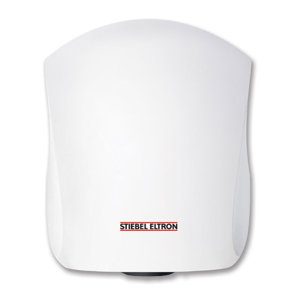 Stiebel Eltron 231587 Ultronic 2 W High Speed Automatic Hand Dryer with Cast Aluminum Housing (Alpine White Finish) - 208V, 1000W