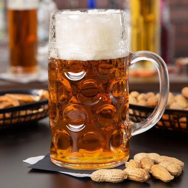 Libbey 12029521 16.75 oz. Oktoberfest Customizable Beer Mug - 12/Case