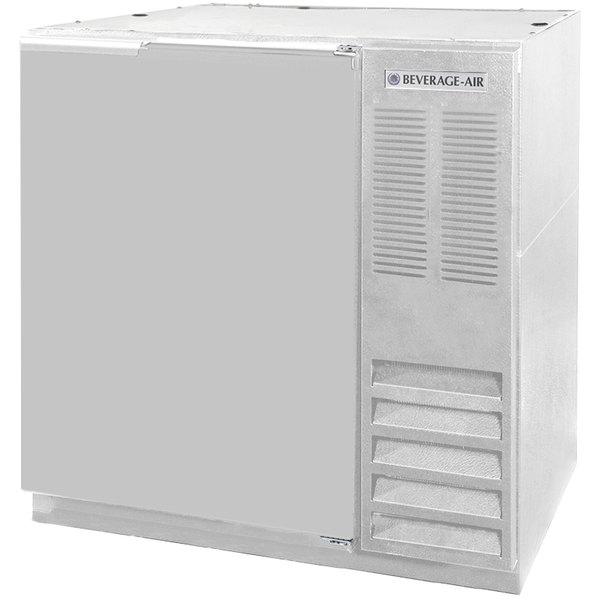"Beverage-Air BB36-1-S WINE 36"" Stainless Steel Solid Door Back Bar Wine Refrigerator Main Image 1"