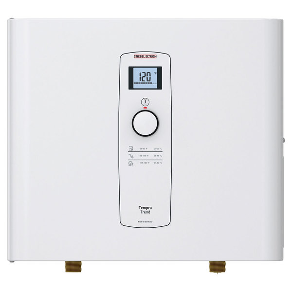 Stiebel Eltron 239214 Tempra 15 Trend Whole House Tankless Electric Water Heater - 10.8/14.4 kW, 0.50 GPM Main Image 1