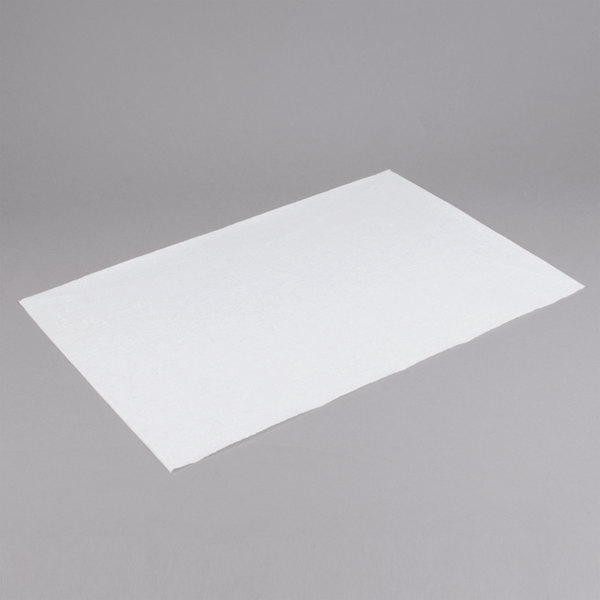 Commercial Restaurants White, Quilon Coated, Full Sheet, Case of 1000 16 x 24 Full Size Paterson Paper Disposable Parchment Paper Sheet Pan Liners for Baking