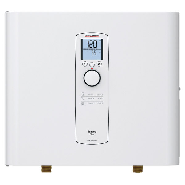 Stiebel Eltron 239221 Tempra 20 Plus Whole House Tankless Electric Water Heater - 14.4/19.2 kW, 0.58 GPM Main Image 1