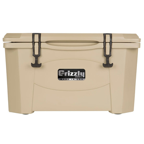 Grizzly Cooler Tan 60 Qt. Extreme Outdoor Merchandiser / Cooler