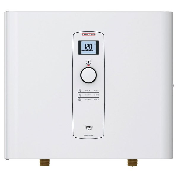 Stiebel Eltron 239216 Tempra 24 Trend Whole House Tankless Electric Water Heater - 18/24 kW, 0.50 GPM Main Image 1