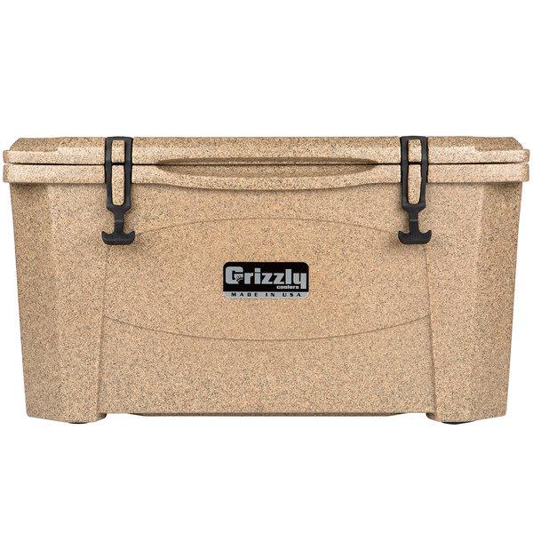 Grizzly Cooler Sandstone 60 Qt. Extreme Outdoor Merchandiser / Cooler