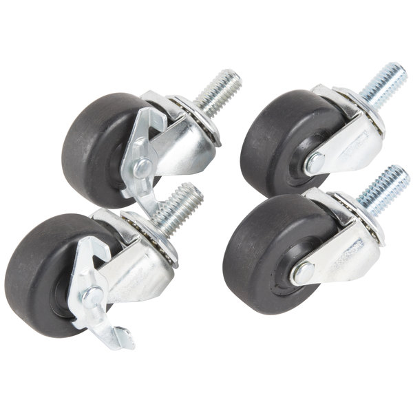 "Traulsen CK28 2 1/2"" Swivel Casters - 4/Set Main Image 1"