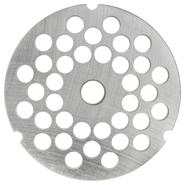 """Hobart 3246PLT-1/4S #32 1/4"""" Stay Sharp Grinder Plate for 4146, 4246, 4732, MG2032, and MG1532 Meat Grinders / Choppers"""