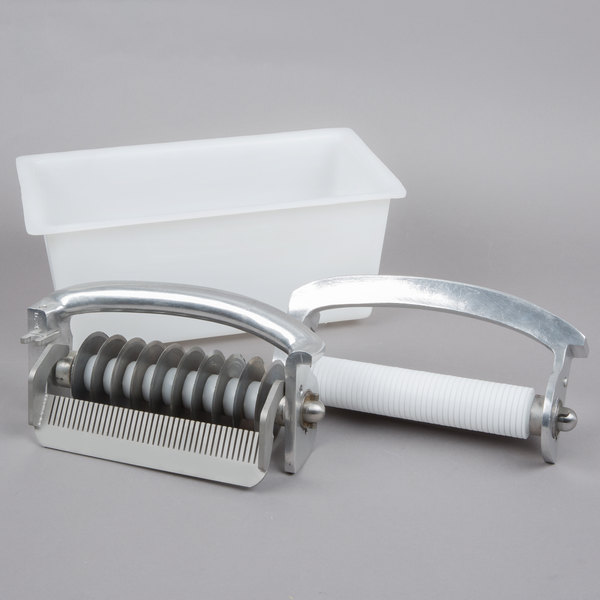 "Hobart JUL-EXWIDE Extra Wide 3/4"" Julienne Liftout Unit and Storage Holder for 403 Meat Tenderizer"