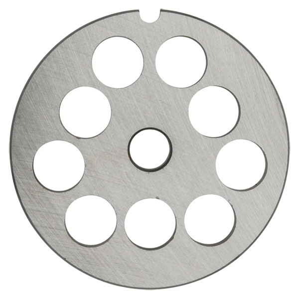 """Hobart 12PLT-5/8S #12 5/8"""" Stay Sharp Grinder Plate for 4812 Meat Choppers and Chopping Ends"""