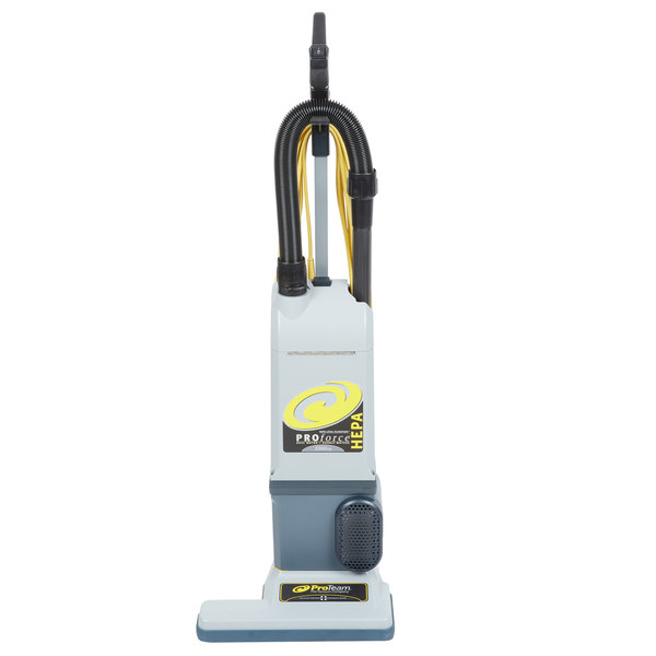 ProTeam 107252 ProForce 1500XP HEPA 15 inch Upright Vacuum Cleaner - 120V