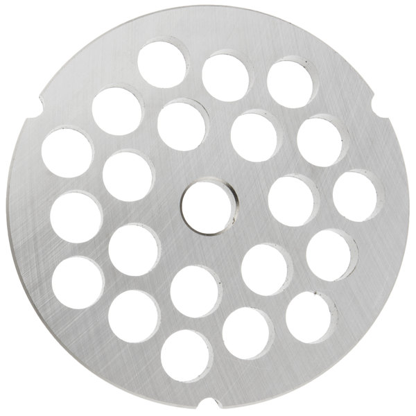 """Hobart 3246PLT-1/2S #32 1/2"""" Stay Sharp Grinder Plate for 4146, 4246, 4732, MG2032, and MG1532 Meat Grinders / Choppers"""