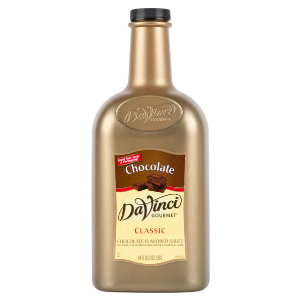 DaVinci Gourmet 1/2 Gallon Chocolate Flavoring Sauce