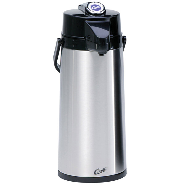 Curtis TLXA2201S000 2.2 Liter Stainless Steel Lever Airpot with Liner - 6/Case