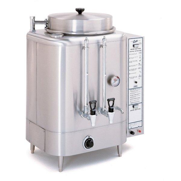 Curtis RU-225-35 Natural Gas Automatic Single 6 Gallon Coffee Urn