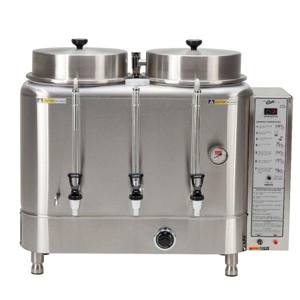 Curtis RU-300-35 Natural Gas Automatic Twin 3 Gallon Coffee Urn