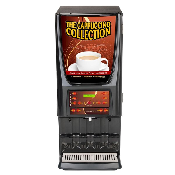 Curtis Expressions EXPR10 Multi-Flavor Hot Beverage Dispenser with Five Hoppers - 120V