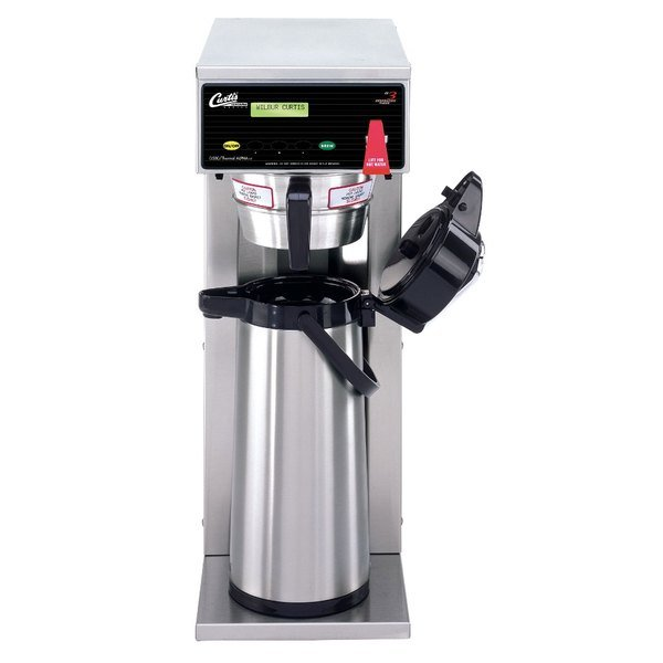 Curtis D500GT63A000 Automatic Airpot Coffee Brewer with Digital Controls - 120/220V