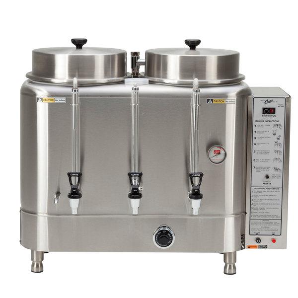 Curtis RU-300-12 Automatic Twin 3 Gallon Coffee Urn - 120/220V