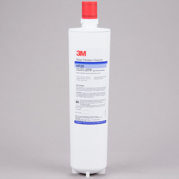 3M Water Filtration Products HF20 Sediment, Cyst, Chlorine Taste and Odor Reduction Cartridge - 0.5 Micron and 1.5 GPM