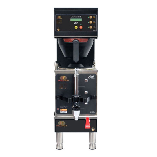 Curtis GEMSIF10B1000 G3 Gemini IntelliFresh Single 1.5 Gallon Coffee Satellite Brewer - 220V