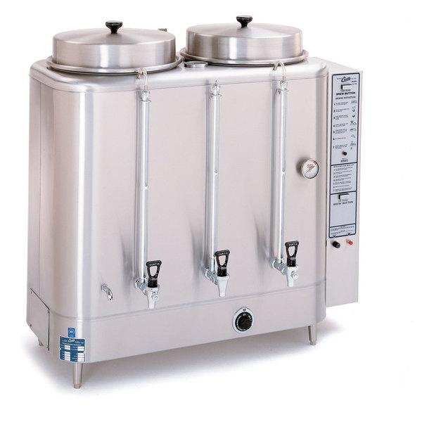 Curtis RU-1000-20 Automatic Twin 10 Gallon Coffee Urn - 208/220V