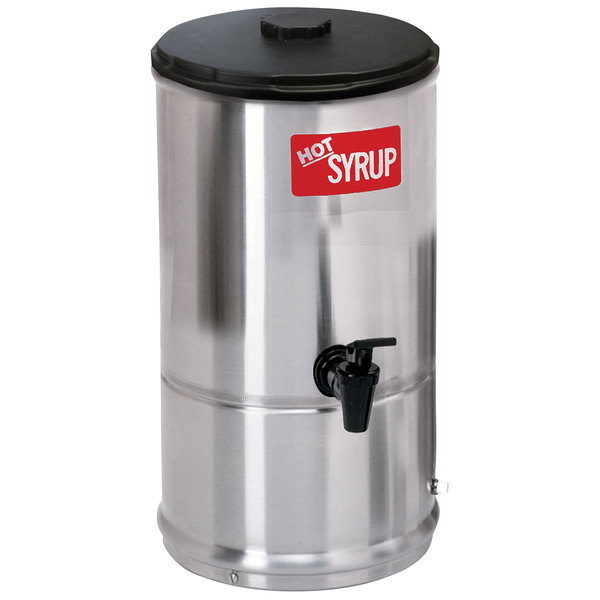 Curtis SW-1 Stainless Steel 1 Gallon Syrup Warmer - 120V Main Image 1