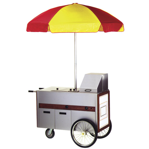 "Eagle Group HDC48-120NYF Hot Dog Cart 48"" x 22 1/2"" - 120V"
