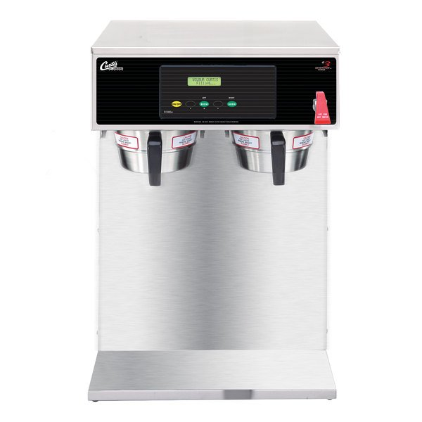 """Curtis D1000GH13A000 18"""" Tall Twin Airpot Coffee Brewer - 220V"""