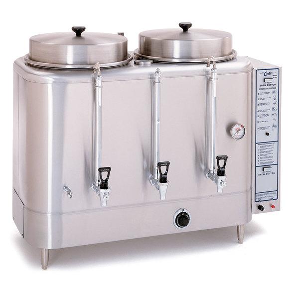 Curtis RU-600-20 Automatic Twin 6 Gallon Coffee Urn - 220V
