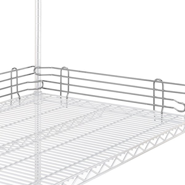 """Metro L21N-4S Super Erecta Stainless Steel Stackable Ledge 21"""" x 4"""""""