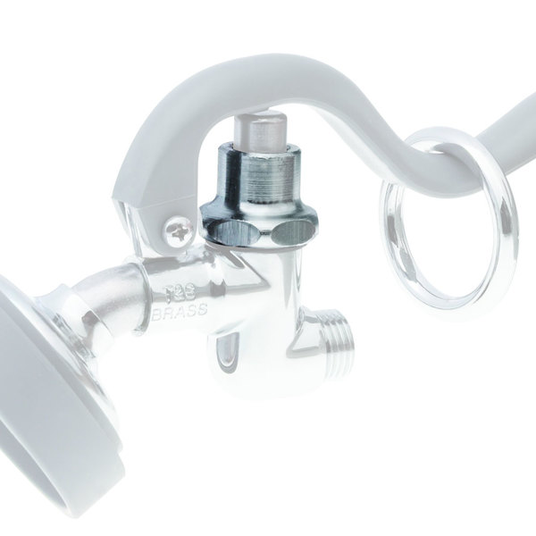 T&S 000608-25 Chrome Plated Brass Squeeze Valve Bonnet for B-0107 Pre-Rinse Nozzles