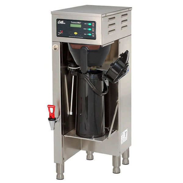 Curtis TP15S63A1500 ThermoPro Single 1.5 Gallon Coffee Brewer with Shelf - 120/220V Main Image 1